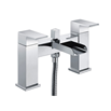 Vellamo Reve Waterfall Bath Shower Mixer Tap with Shower Attachment