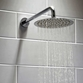 Vellamo Thin Round Fixed Shower Head - 200mm