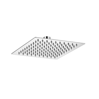 Vellamo Thin Square Fixed Shower Head - 200mm