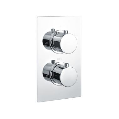 Vellamo Twist 1 Outlet Concealed Thermostatic Shower Valve