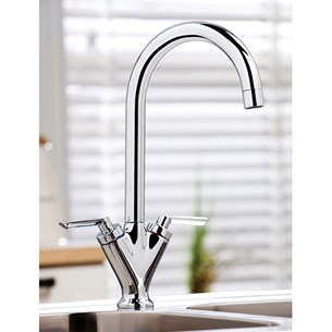 Vellamo Twist Kitchen Sink Mixer Tap