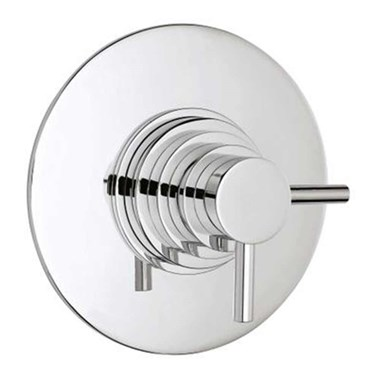 Vellamo Twist Single Outlet Concealed Thermostatic Shower Valve