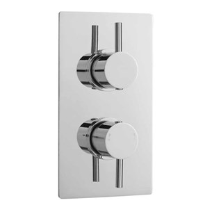Vellamo Twist Single Outlet Thermostatic Concealed Shower Valve