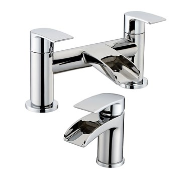 Vellamo Venta Basin Mixer & Bath Filler Pack