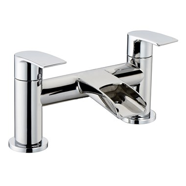 Vellamo Venta Waterfall Bath Mixer Tap