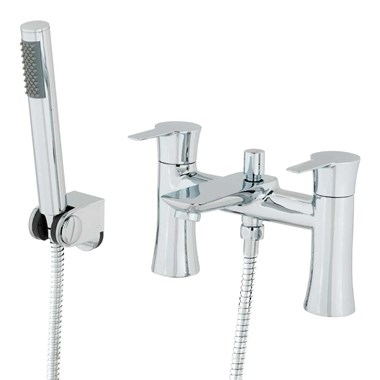 Vellamo Scene Bath Shower Mixer with Shower Kit