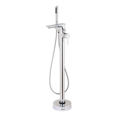 Vellamo Scene Floorstanding Bath Shower Mixer with Kit