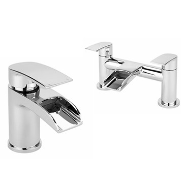 Vellmo Venta Basin Mixer & Bath Filler Pack