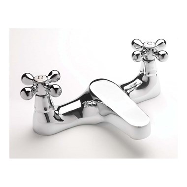Sagittarius Victoria Deck Mounted Bath Filler