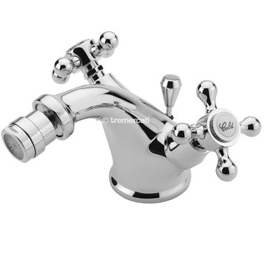 Tre Mercati Victora Mono Bidet Mixer With Pop Up Waste - Chrome