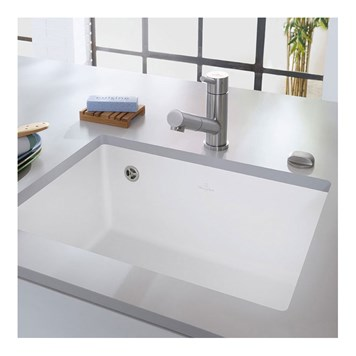 Villeroy & Boch Subway 60 SU Undermount Single Bowl Ceramic Sink