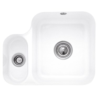 Villeroy & Boch Cisterna 60B Ceramic Plus 1.5 Bowl Undermount Sink