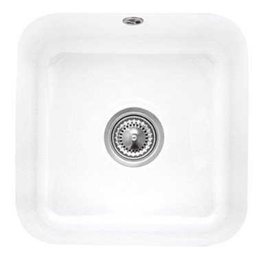 Villeroy & Boch Cisterna 50 Ceramic Plus Single Bowl Undermount Sink