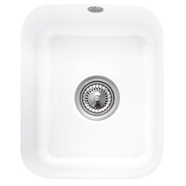 Villeroy & Boch Cisterna 45 Ceramic Plus Single Bowl Undermount Sink