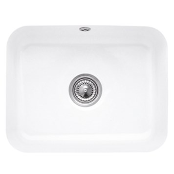 Villeroy & Boch Cisterna 60C Ceramic Plus Single Bowl Undermount Sink