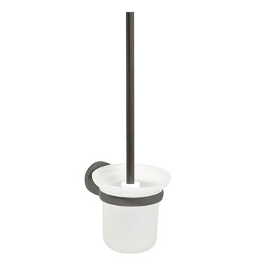 VOS Toilet Brush Holder - Brushed Black