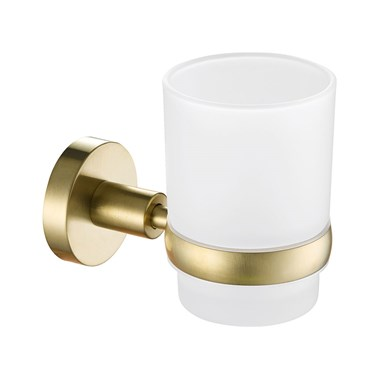VOS Tumbler Holder - Brushed Brass