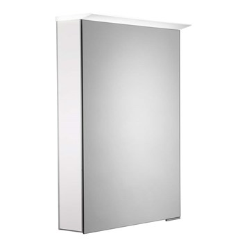 Roper Rhodes Virtue LED Illuminated Mirror Cabinet with Shaver Socket - Gloss White