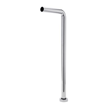 "Sagittarius 1.25"" Floor Mounted Extension Pipe & Shroud (210 x 600mm)"