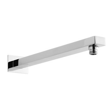 Vellamo Premium 377mm Square Wall Mounted Fixed Shower Arm