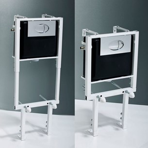 Adjustable Wall Hung Concealed Cistern Frame & Cistern