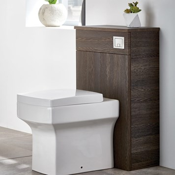 Harbour Alchemy 500 WC Unit - Dark Oak