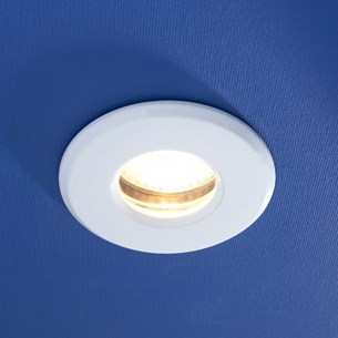 HIB Fire Rated Warm White LED White Showerlight