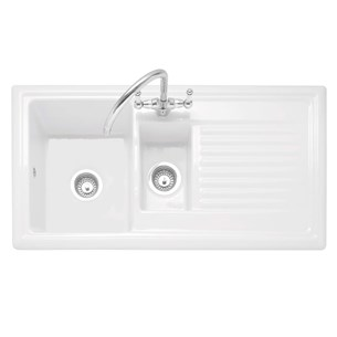 White & Cream Kitchen Sinks | Tap Warehouse
