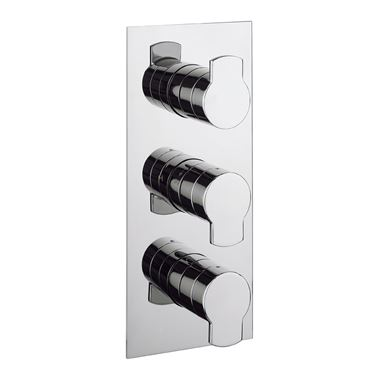 Crosswater Wisp Concealed Thermostatic Shower Valve with 3 Way Diverter