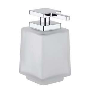 Crosswater Wisp Glass Soap Dispenser - Frosted
