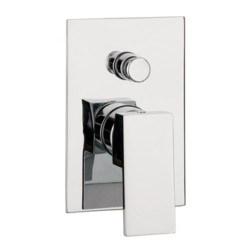 Crosswater Water Square Concealed Manual Shower Valve with Diverter