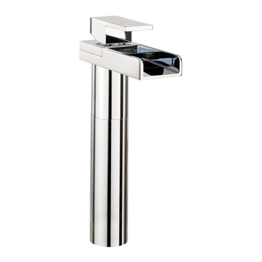 Crosswater Water Square Tall Basin Monobloc