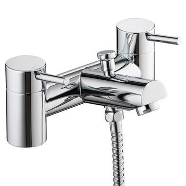 Vellamo Curvo Bath Shower Mixer