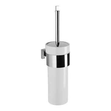 Crosswater Zeya Ceramic Toilet Brush Holder