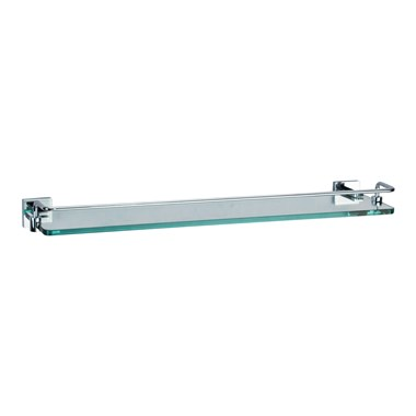 Crosswater Zeya Glass Shelf with Rail 500mm