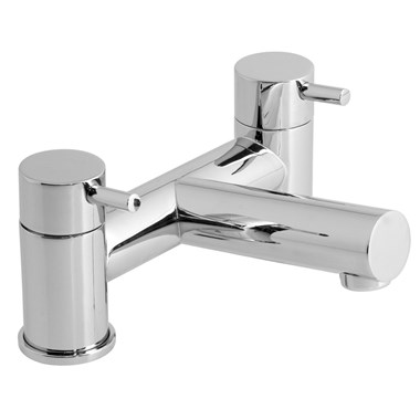 Vado Zoo Deck Mounted 2 Hole Bath Filler